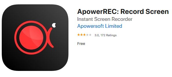 ApowerREC logo on iOS : how to download videos from reddit