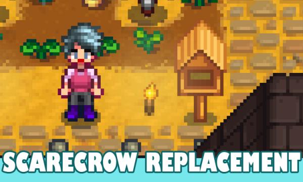 Bird Feeder Scarecrow Replacement