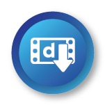 Dailymotion videos downloading icon