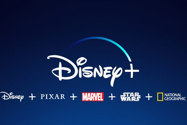 The official logo of Disney+.