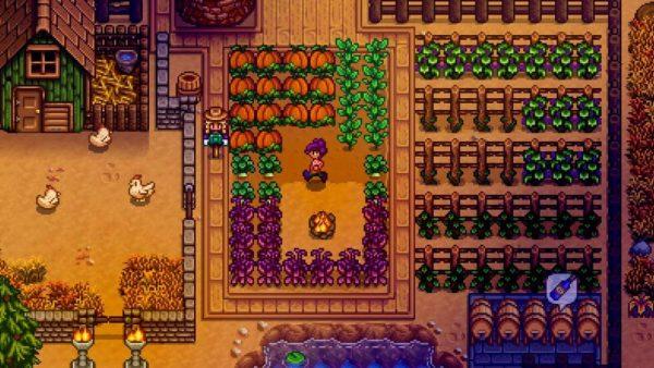 Multiplayer farming