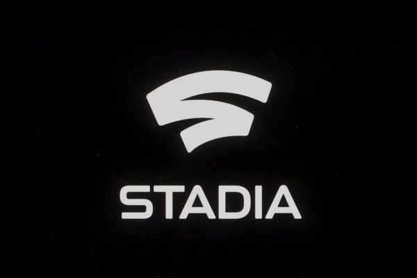 The header for the article, which is the Google Stadia logo.
