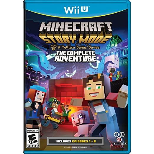 Minecraft story mode Wii U games