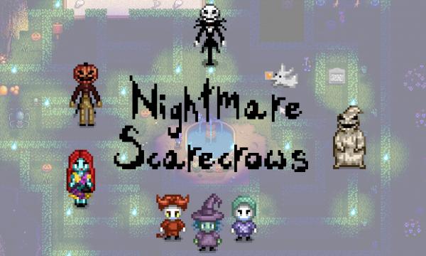 Nightmare Scarecrows Stardew Valley Mods