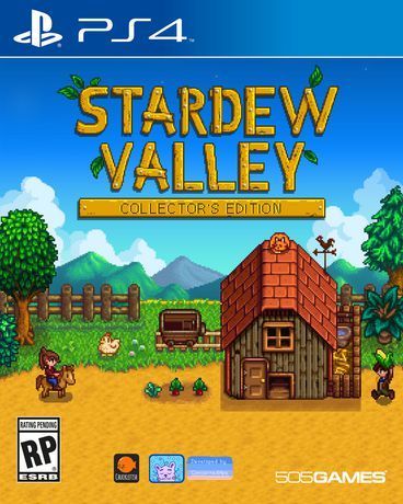 Strardew Valley on PS4 console