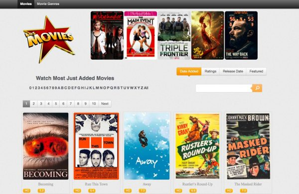 Los Movies, a Putlocker Alternative