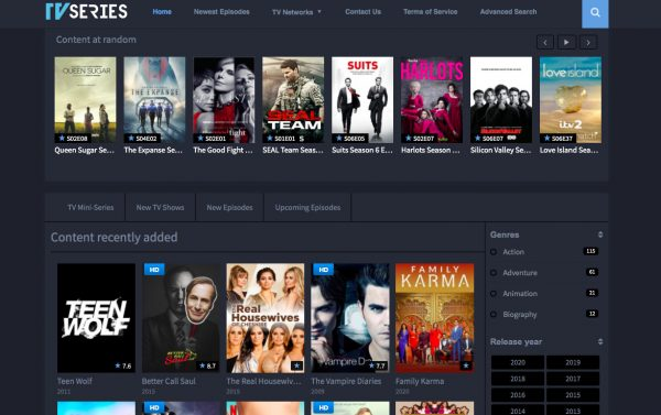 WatchTVSeries, a Putlocker alternative