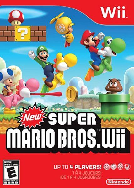 Super Mario Bros Wii Nintendo console games