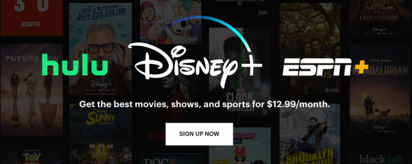 Sign up to all three services at a discount with Disney Bundle.