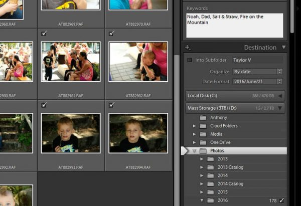 How to Use Lightroom: Importing