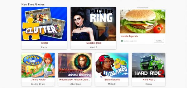 GameTop, a game download site which has freeware titles.