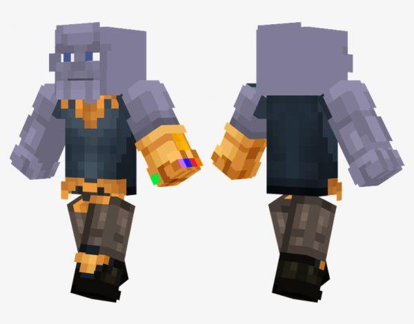 minecraft skin thanos