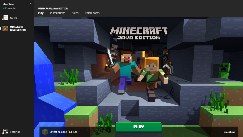 Minecraft Java Edition game