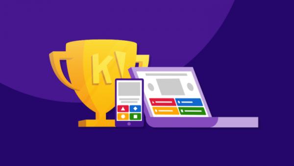 Kahoot helps build a competitive spirit