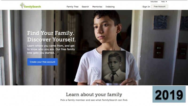 FamilySearch.org free people search
