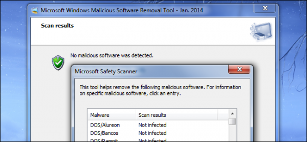 Microsoft Malicious Software Removal Tool free Malware removal