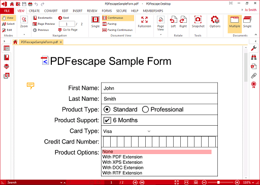 PDFescape