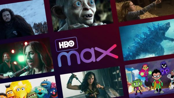 HBO Max User Interface