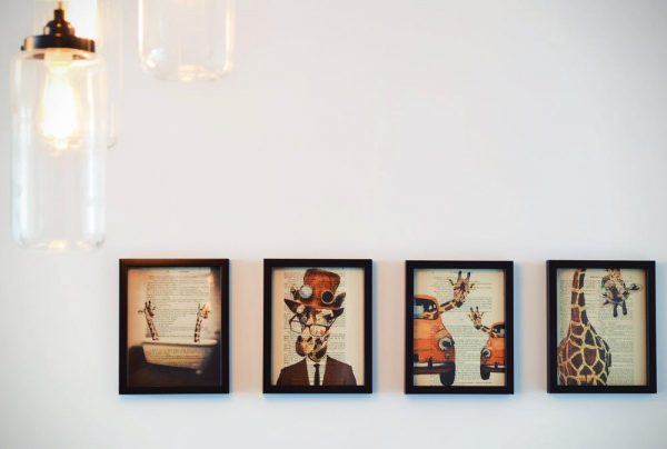 Images Hung on the Wall