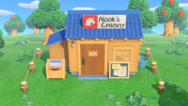Animal Crossing Upgrading Nook's Cranny