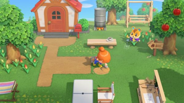 Animal Crossing Designing Home