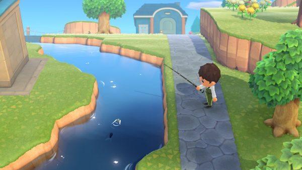 Animal Crossing Catching Fish
