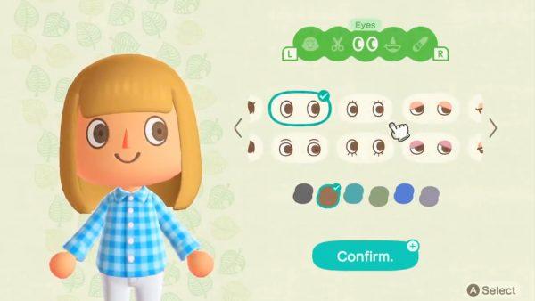 Animal Crossing Customizing Character