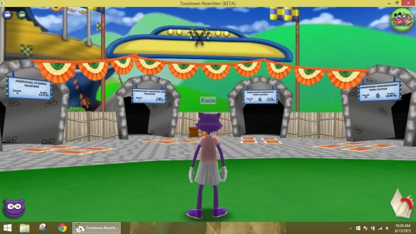 Toontown User Interface