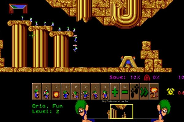 Lemmings: Best Nostalgic Game