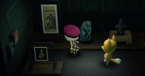 Animal Crossing Purchasing Art