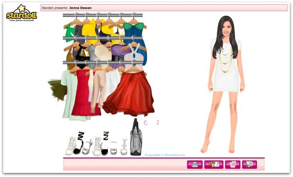 Stardoll User Interface