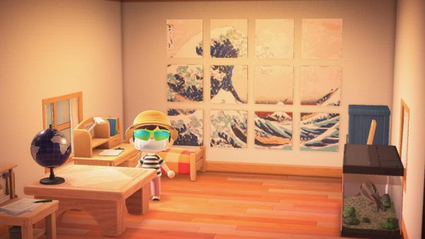 Animal Crossing Customizing Furniture