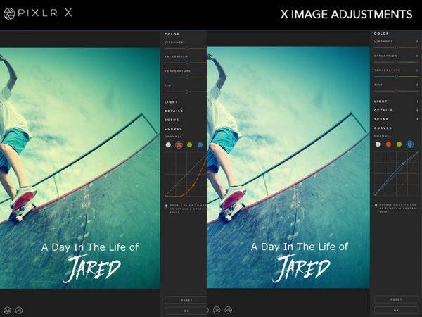 Pixlr X Photo Editor photo editing software