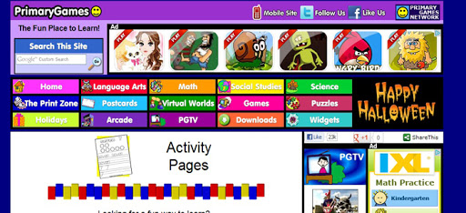 Primary Games Website
