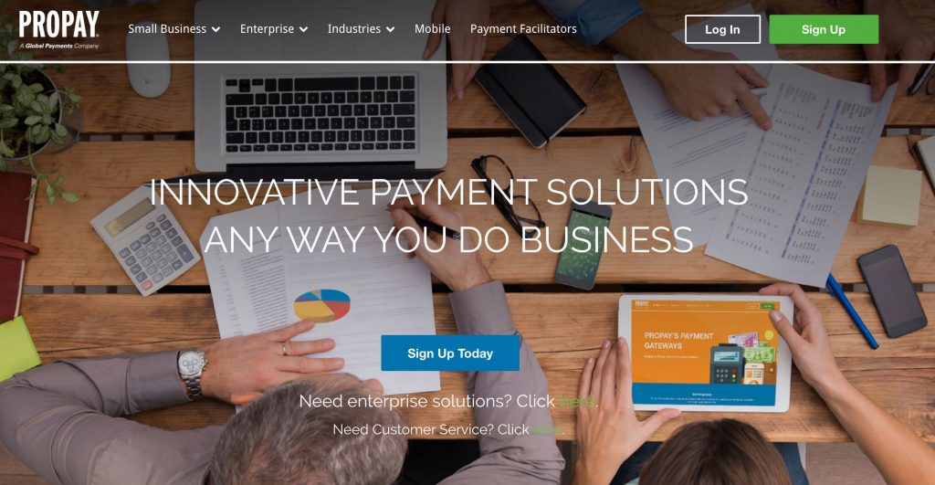 ProPay secure online payment and transactions