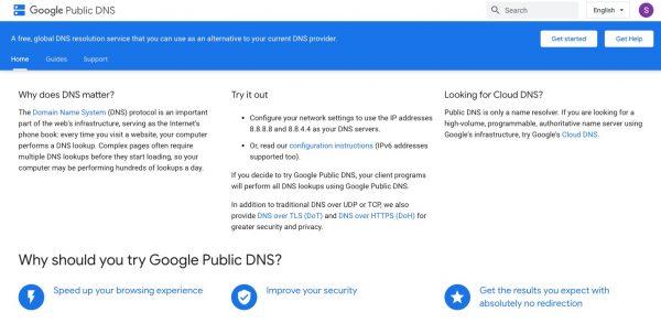 Google Public DNS: Best DNS Server
