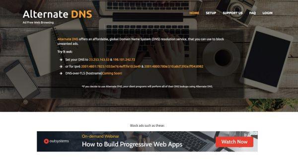 Alternate DNS: Best DNS Server