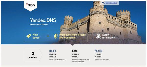 Yandex DNS