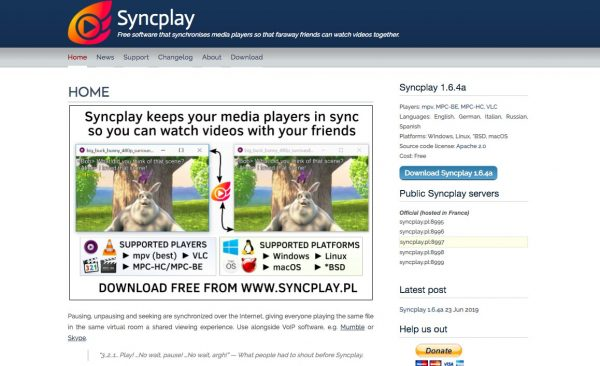 How to Watch Movies Online with Friends Using SyncPlay