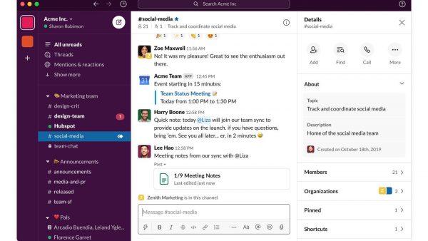 Best Productivity App: Slack