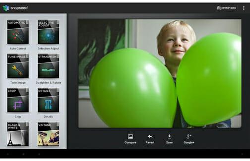 Snapseed Photo Editor photo editing software