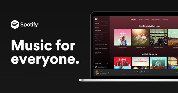 Spotify Web Player for PC