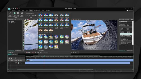 VSDC Free Video Editor free video editing software