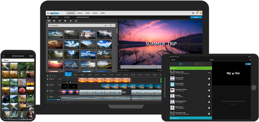 WeVideo free video editing software