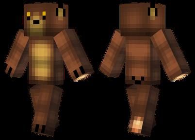 minecraft skins bear