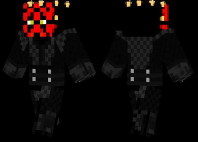 minecraft skins darth maul