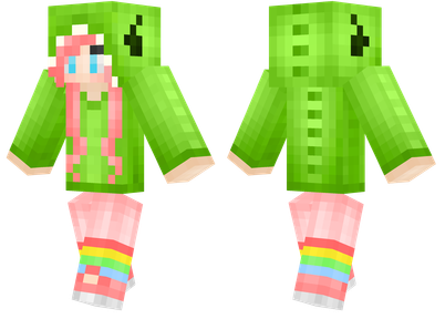 minecraft skins dino girl