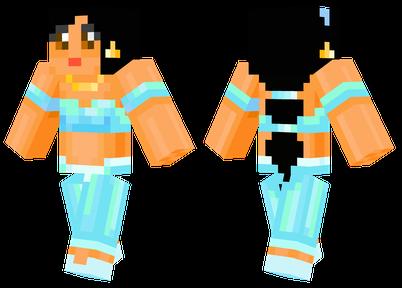 minecraft skins princess jasmine