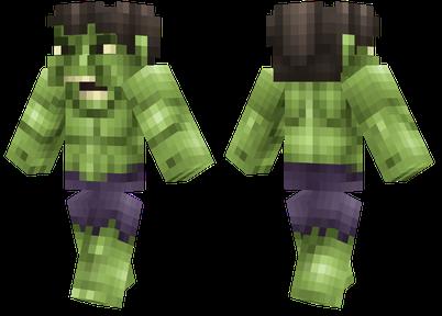 minecraft skins hulk