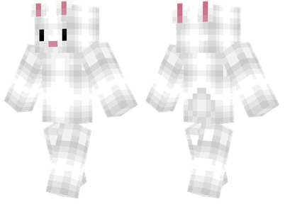 minecraft skins bunny